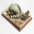 UCHG 1/35 ジオン公国軍 ランバ・ラル独立遊撃隊セット
